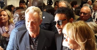 Sting, Shaggy e Trudie Styler - All rights reserved - © Piero Pardini - The Wolf Post
