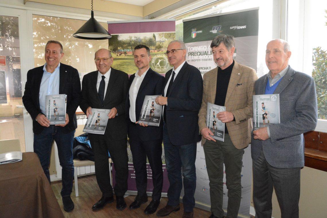 Presentato al Match Ball Firenze il Torneo Open di Pre-qualificazioni degli Internazionali BNL d'Italia 2020