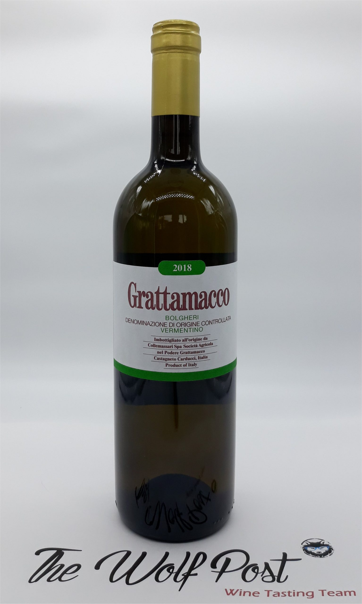 Grattamacco Bianco 2018 - Podere Grattamacco