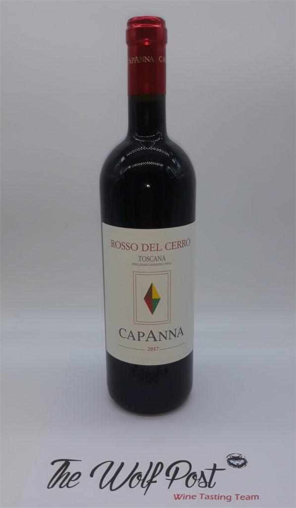 Rosso del Cerro 2017 - Capanna