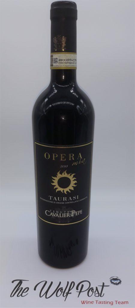 Opera Mia 2018 - Tenuta Cavalier Pepe