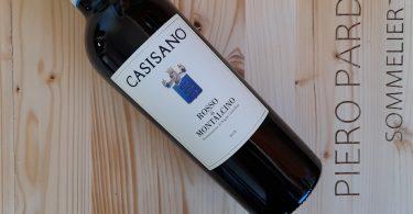 Rosso di Montalcino 2018 - Casisano - © Ph. Piero Pardini Sommelier