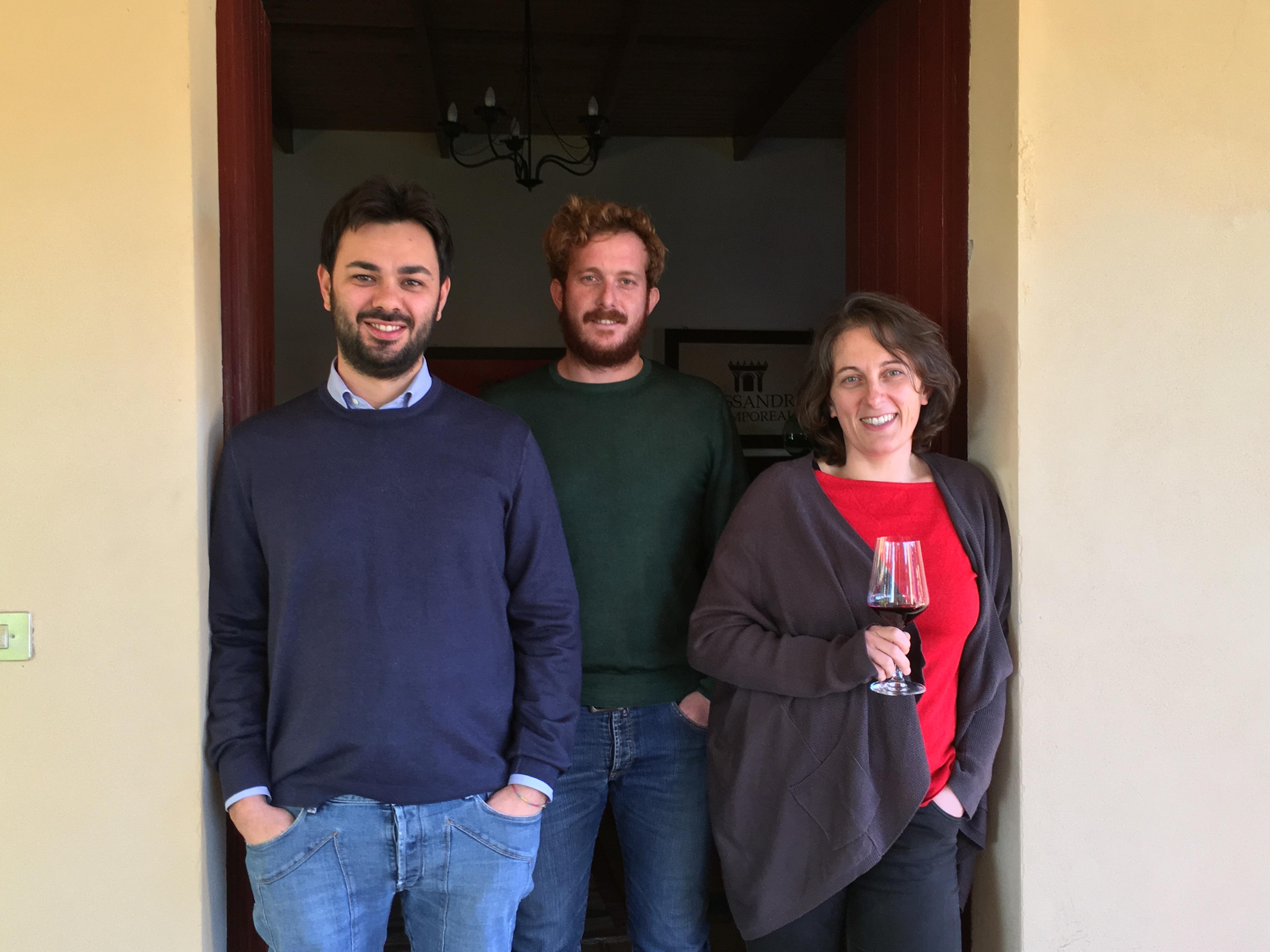 I tre cugini Alessandro - Alessandro di Camporeale